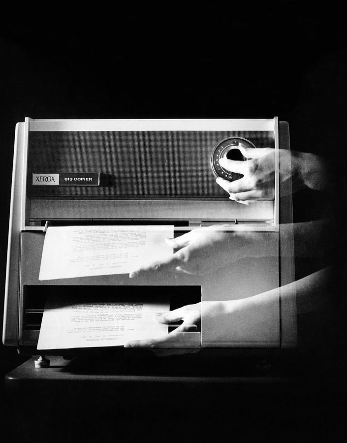 Xerox 813, The First Desktop Photograph