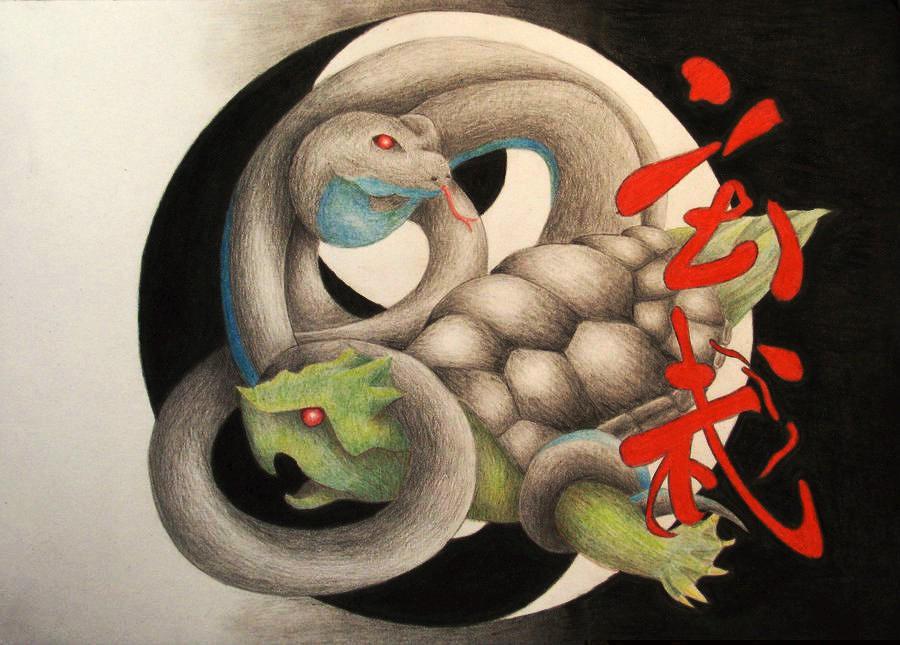 Xuan Wu Drawing