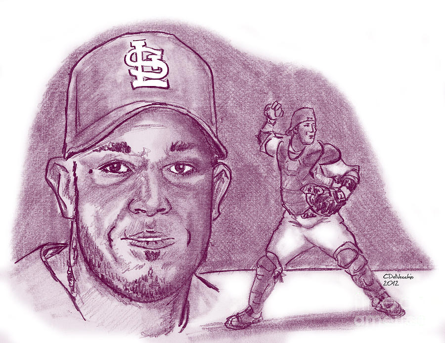 Yadier Molina Drawing