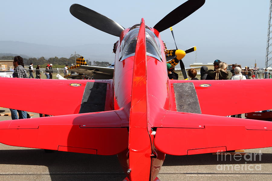 Yak 9u Airplane . 7d15802 Photograph  - Yak 9u Airplane . 7d15802 Fine Art Print