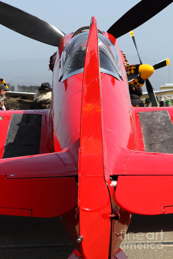 Yak 9u Airplane . 7d15803 Photograph