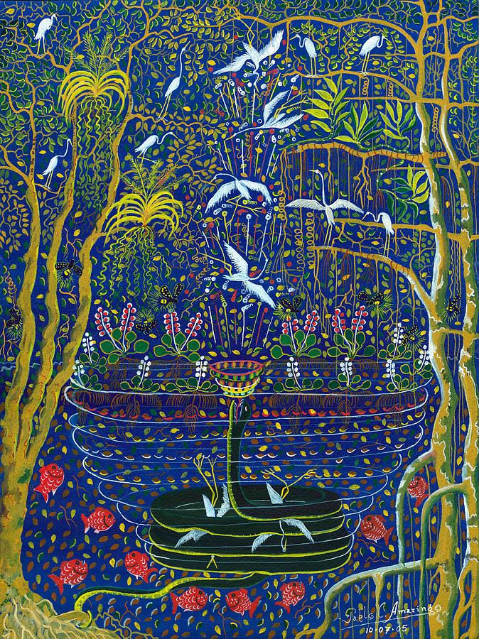 Yana Yacumama  Painting
