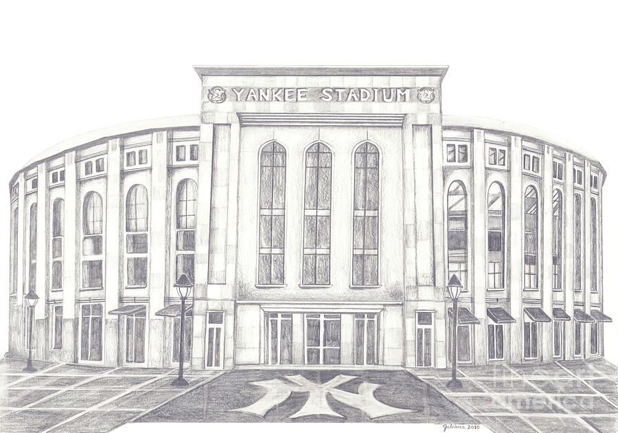 Yankee Stadium Drawing