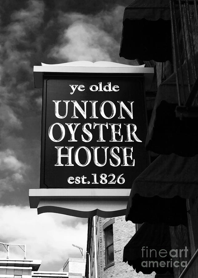 ye olde Union Oyster House Photograph  - ye olde Union Oyster House Fine Art Print