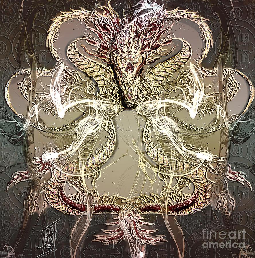 Year Of The Dragon 2 Digital Art