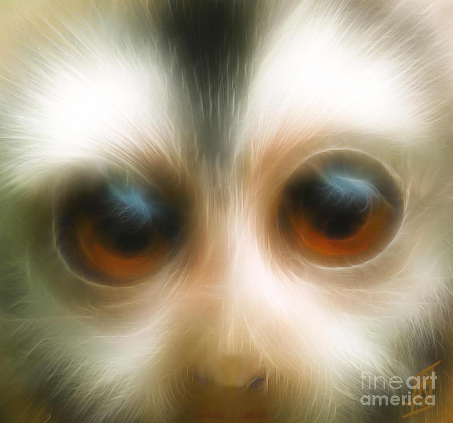 Year Of The Monkey Digital Art