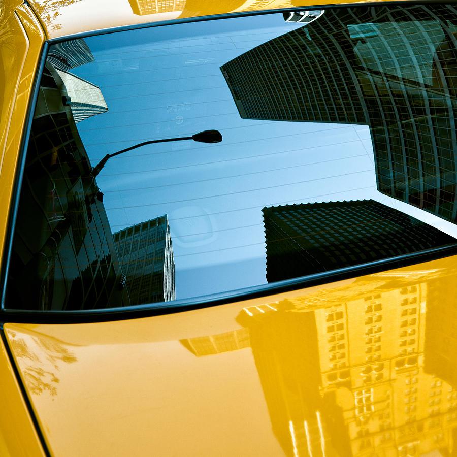 Yellow Cab Big Apple Photograph