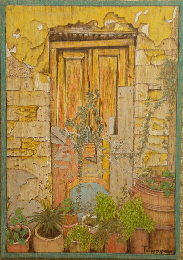 Yellow Door Painting