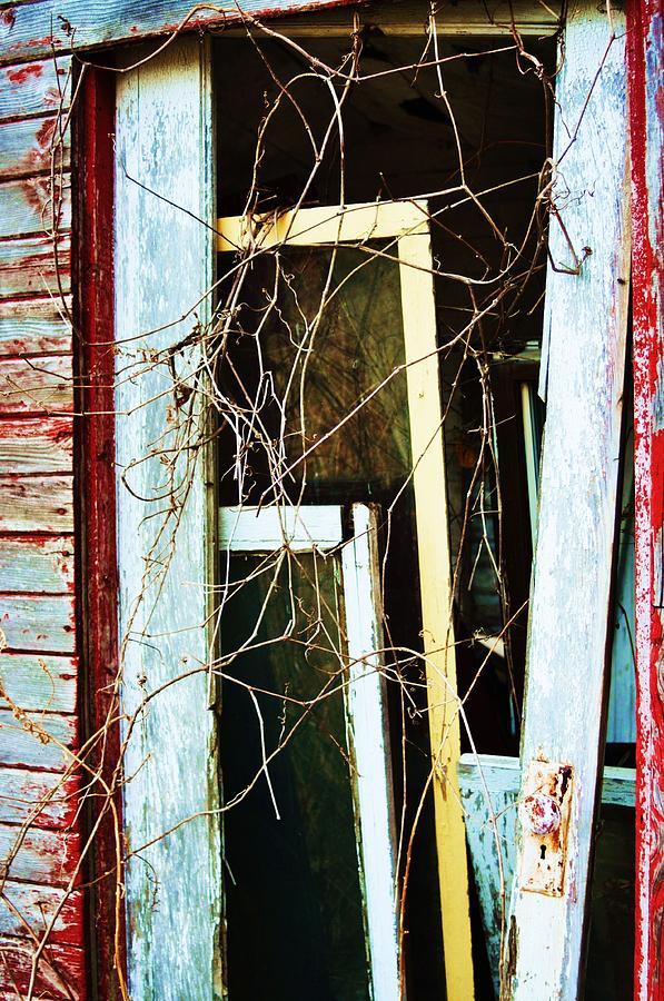 Yellow Door Photograph