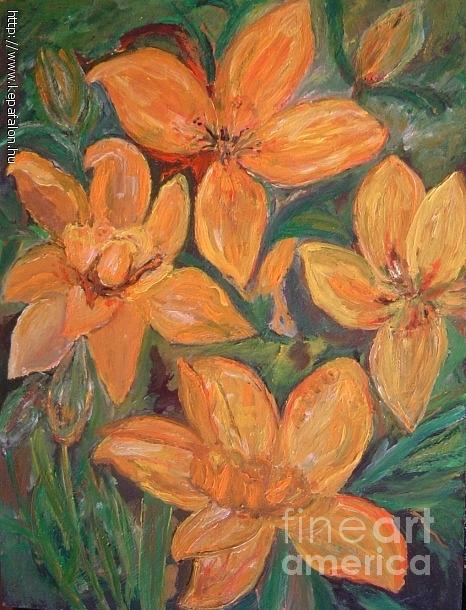 Yellow Flowers Painting