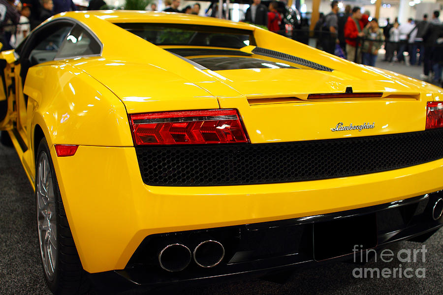 Yellow Lamborghini Diablo . 7d9588 Photograph