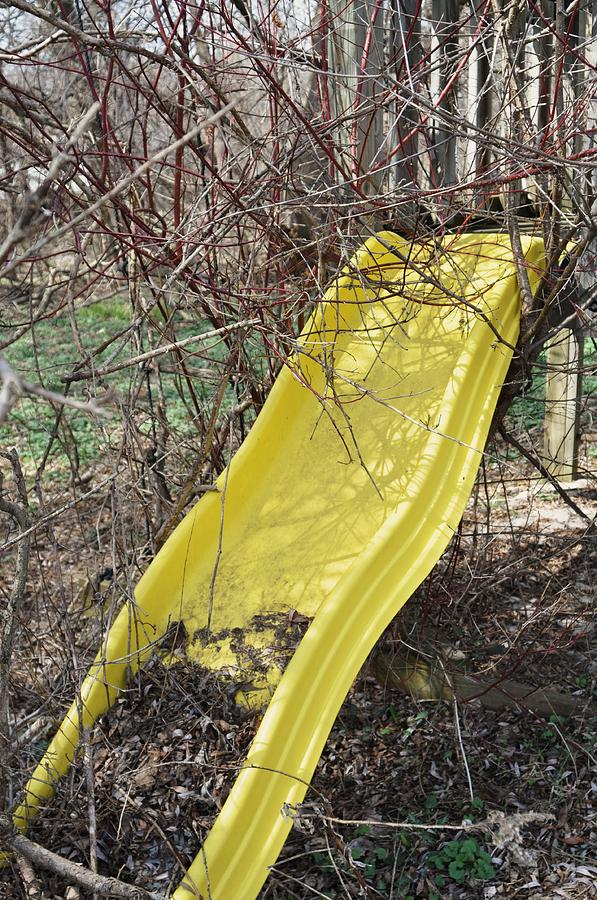 Yellow Slide Photograph