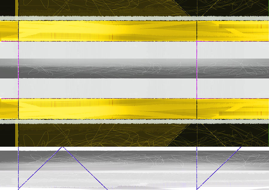 Yellow Stripes Painting
