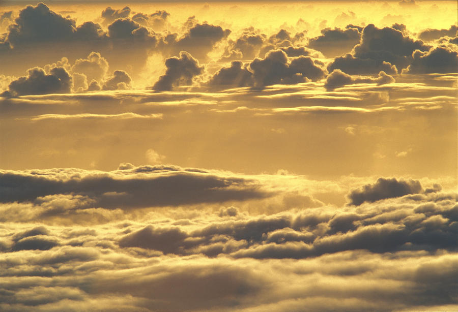 Yellow Sunset Photograph