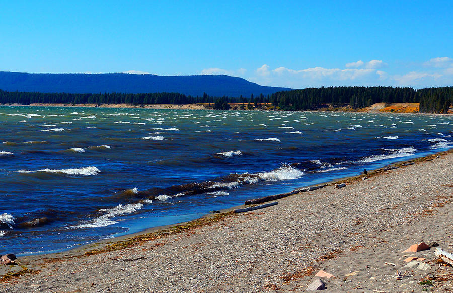 Yellowstone Lake Photograph