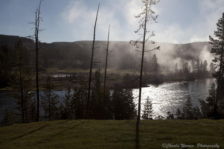 Yellowstone Morning Photograph