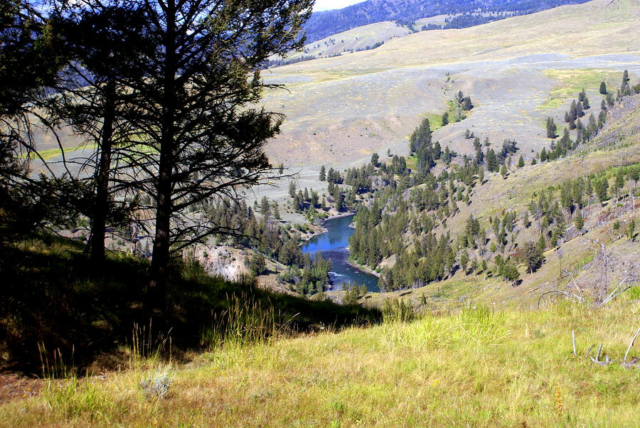 Yellowstone River Vista Photograph