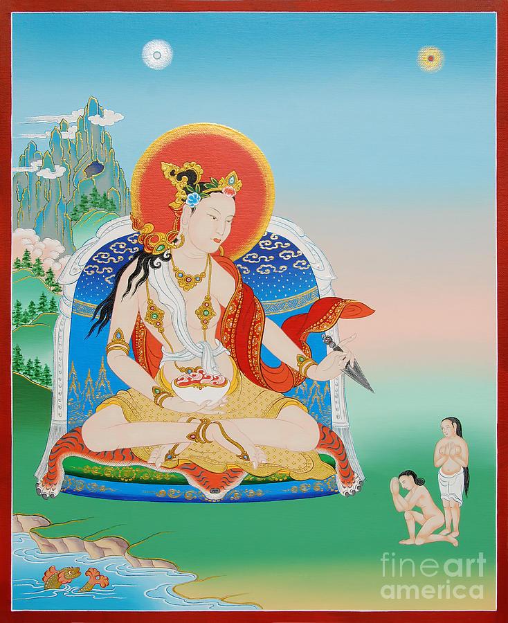 Yeshe Tsogyal Painting