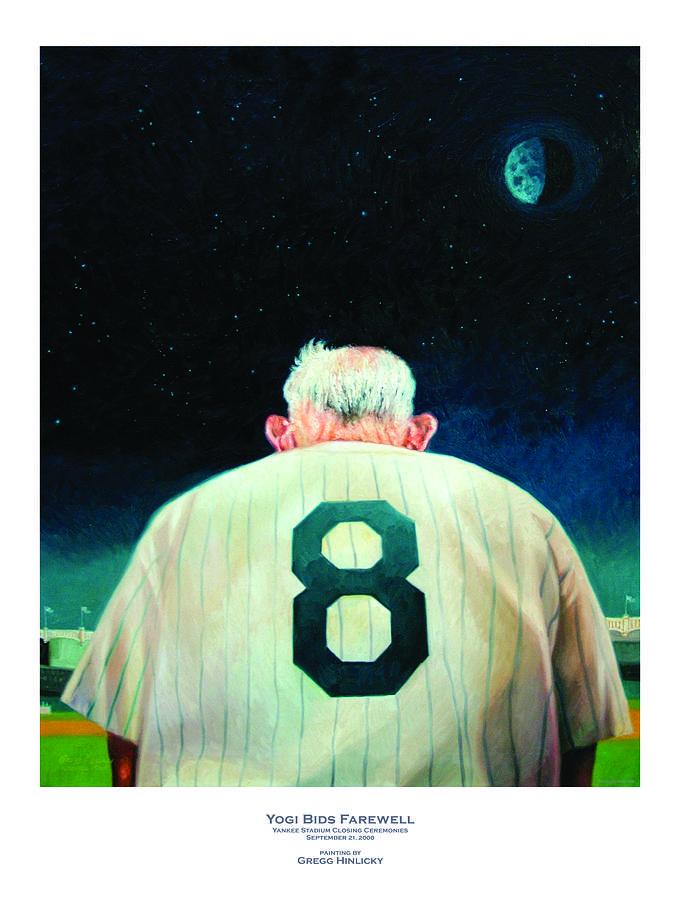 Yogi Bids Farewell Painting