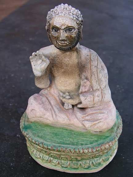 Yogin Sculpture