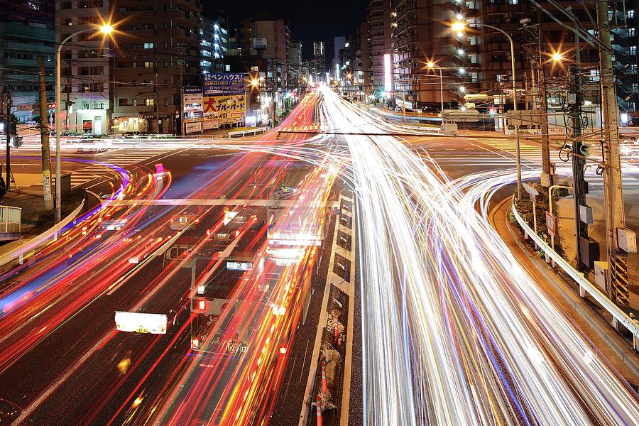 Horizontal Photograph - Yokohama Stream by Spiraldelight