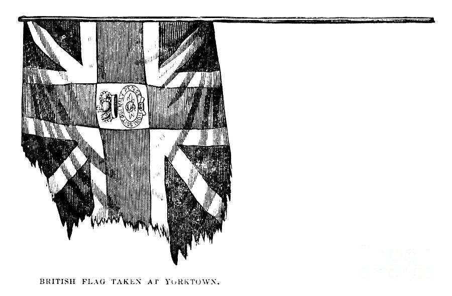 Yorktown: British Flag Photograph  - Yorktown: British Flag Fine Art Print