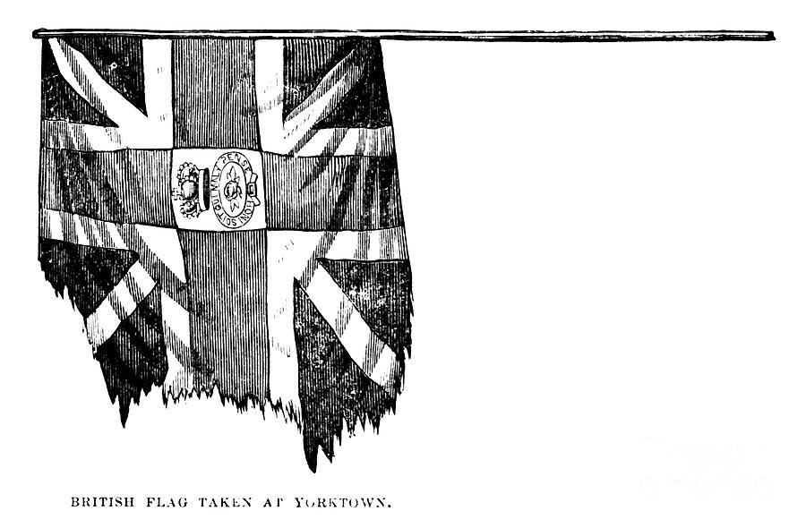 Yorktown: British Flag Photograph