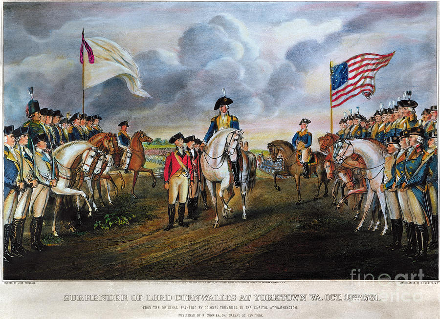 Yorktown: Surrender, 1781 Photograph