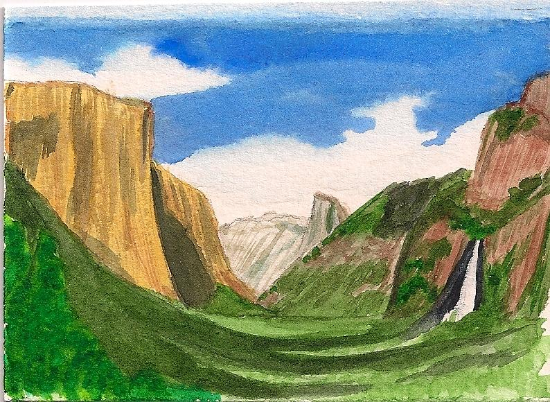 Yosemite Summer Painting