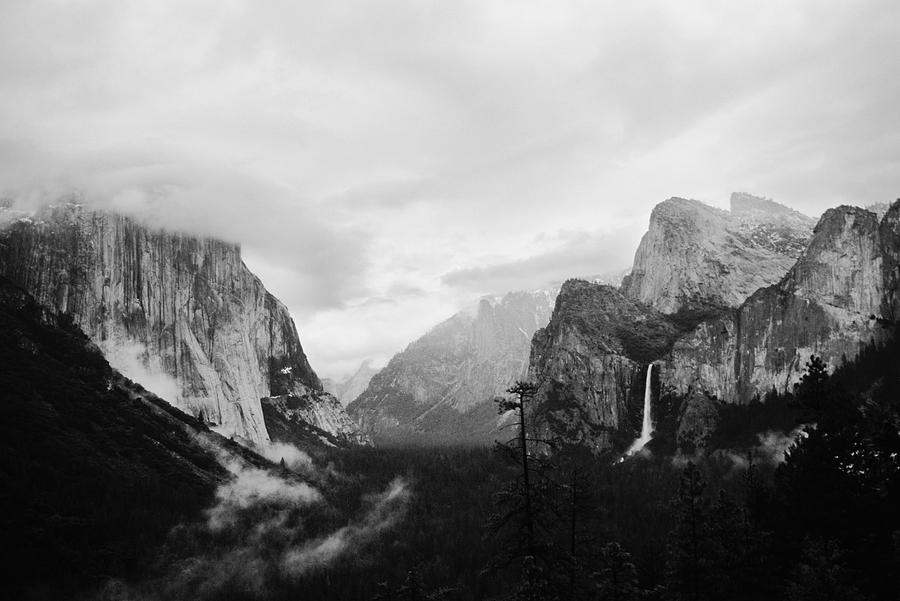 Yosemite Valley - Early Spring Photograph