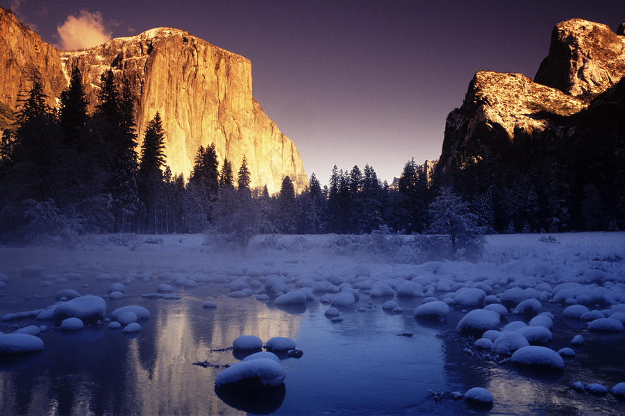 Yosemite Valley Sunset Photograph