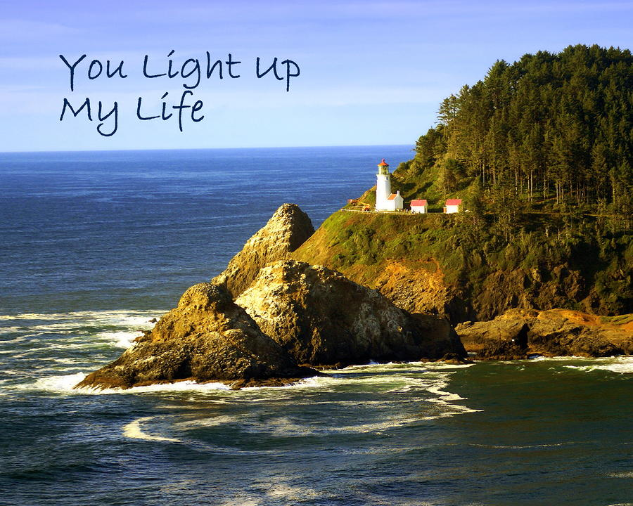 You Light Up My Life 1 Greeting Card 
