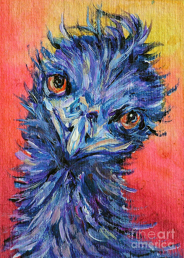 You Looking At Me Painting  - You Looking At Me Fine Art Print