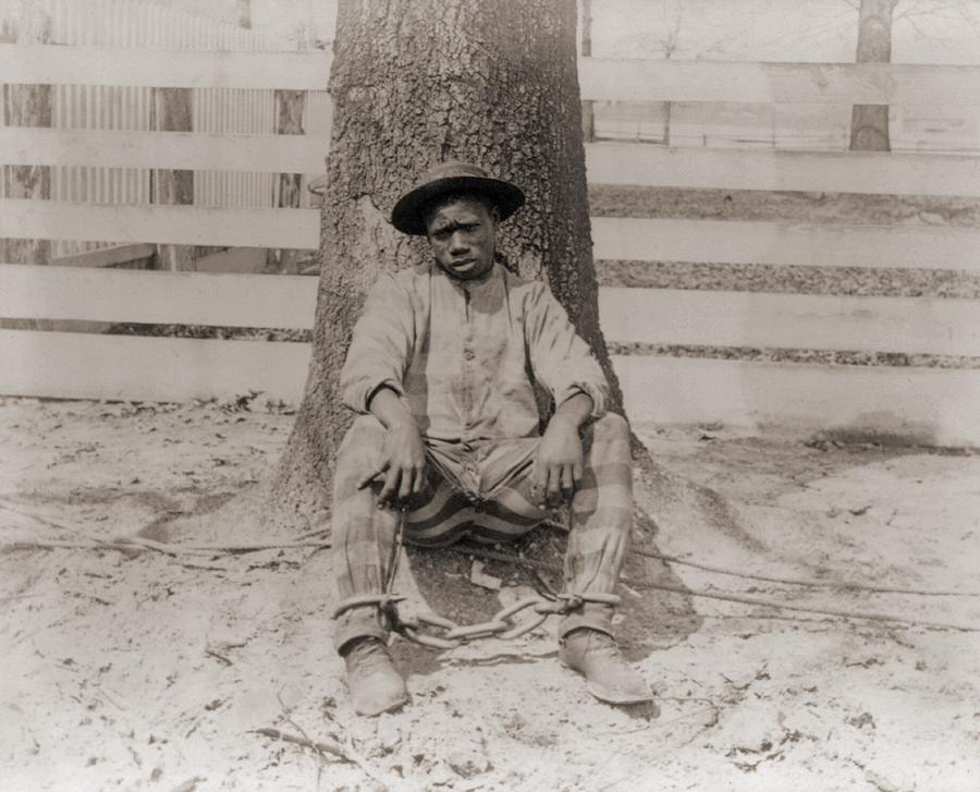Young African American Sitting Photograph