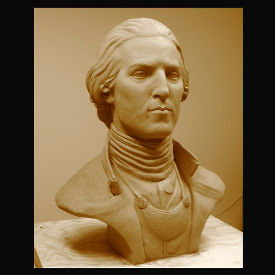 Young George In Clay Sculpture