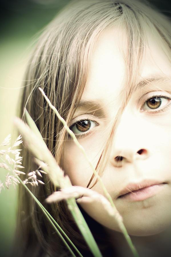 Art Photography Young Girl