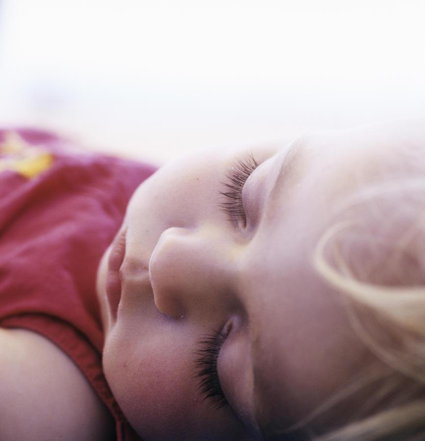Young Girl Sleeping Photograph