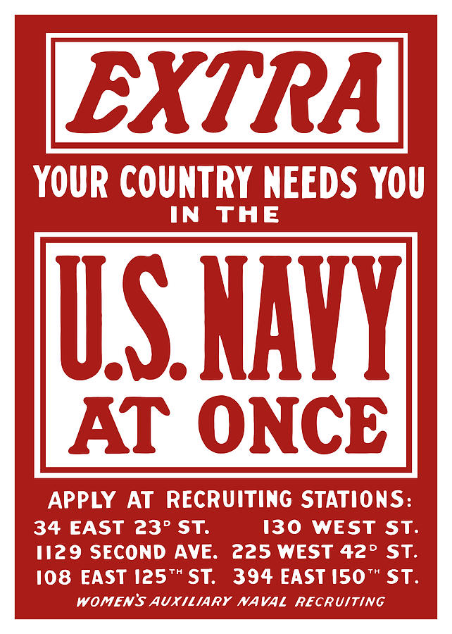 Your Country Needs You In The Us Navy Digital Art