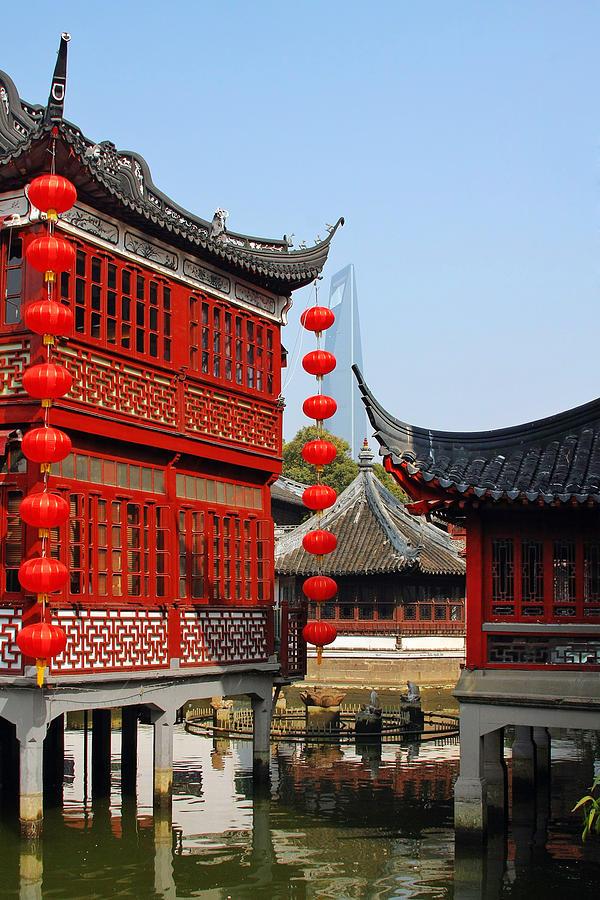 Yu Gardens - A Classic Chinese Garden In Shanghai Photograph