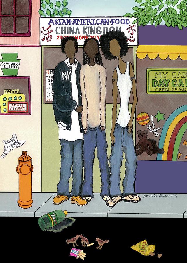 Z Hoody Boys Painting