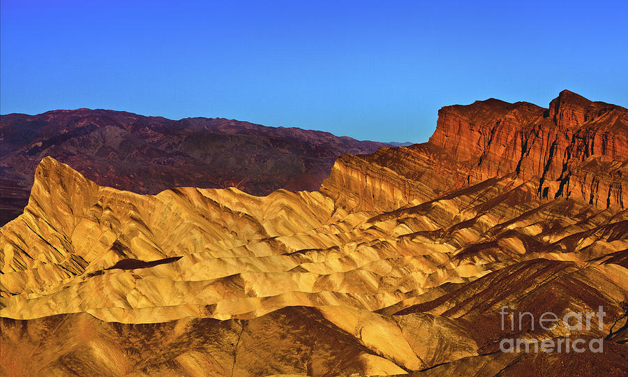 Zabriskie At Sunrise Photograph  - Zabriskie At Sunrise Fine Art Print