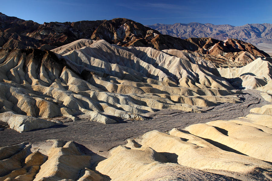 Zabriskie Point In Death Valley Photograph