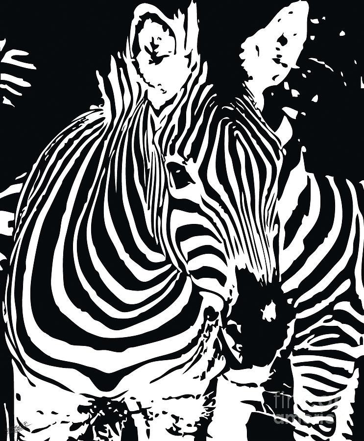 zebra-01D Painting