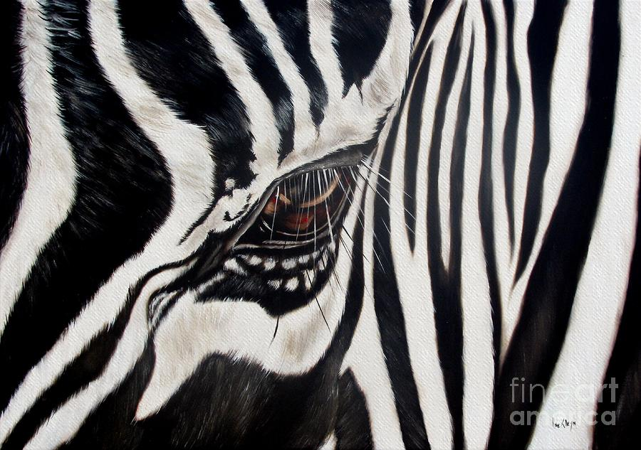 Zebra Eye Painting