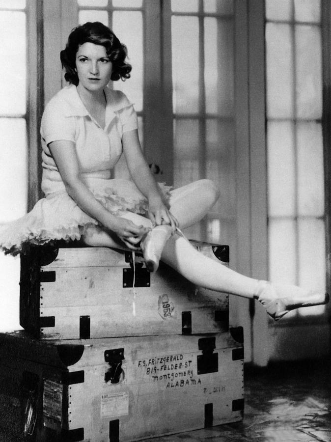Zelda Fitgerald, 1931 Photograph