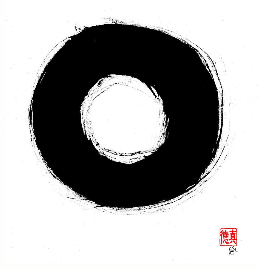 Zen Circle Seven Painting
