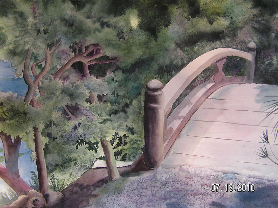 Zen garden bridge by shirley hathaway for Zen garden bridge