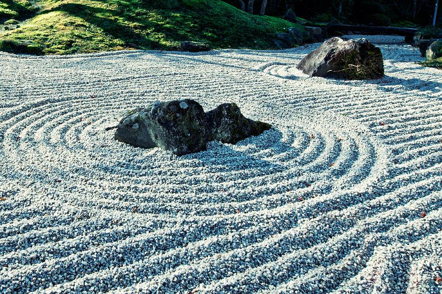 Zen Garden Japan Photograph