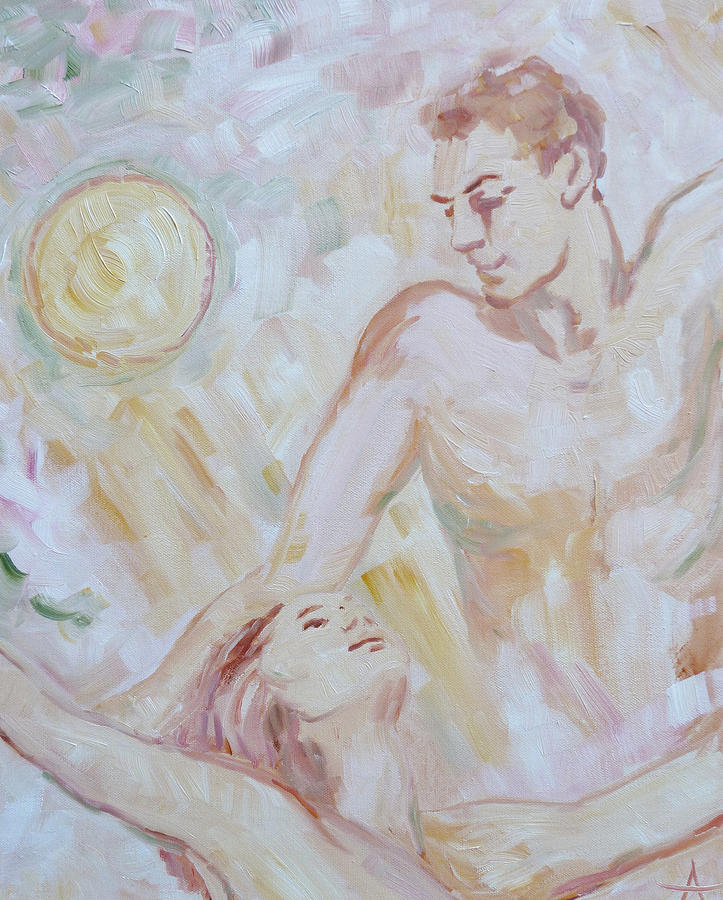 Zeus And Semele Painting