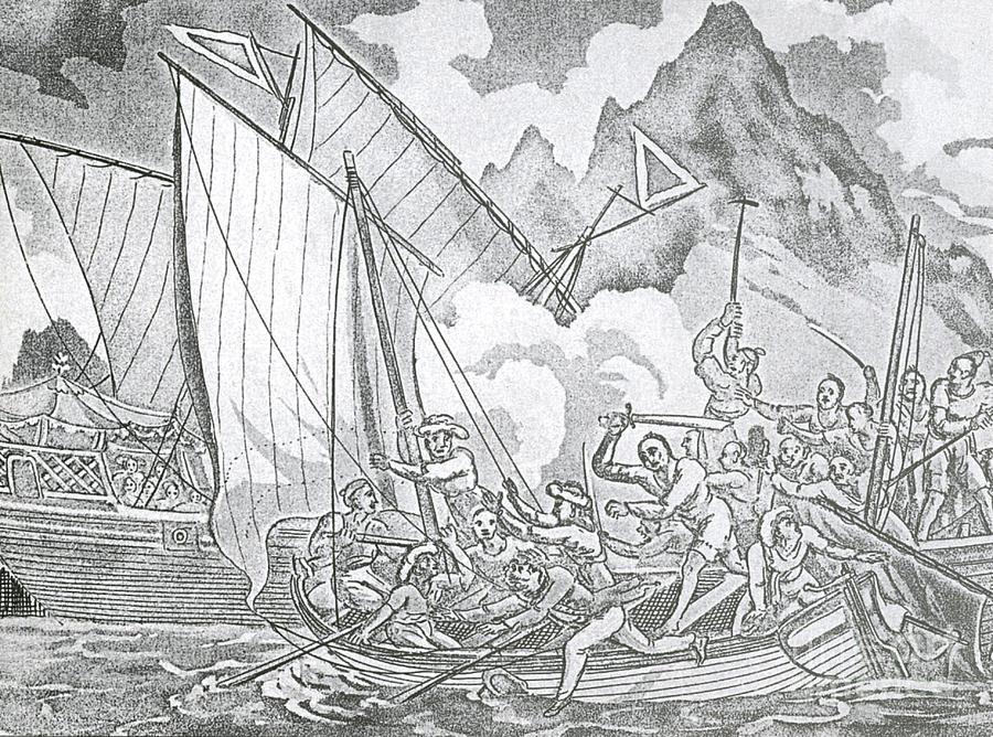 Zheng Yis Pirates Capture John Turner Photograph